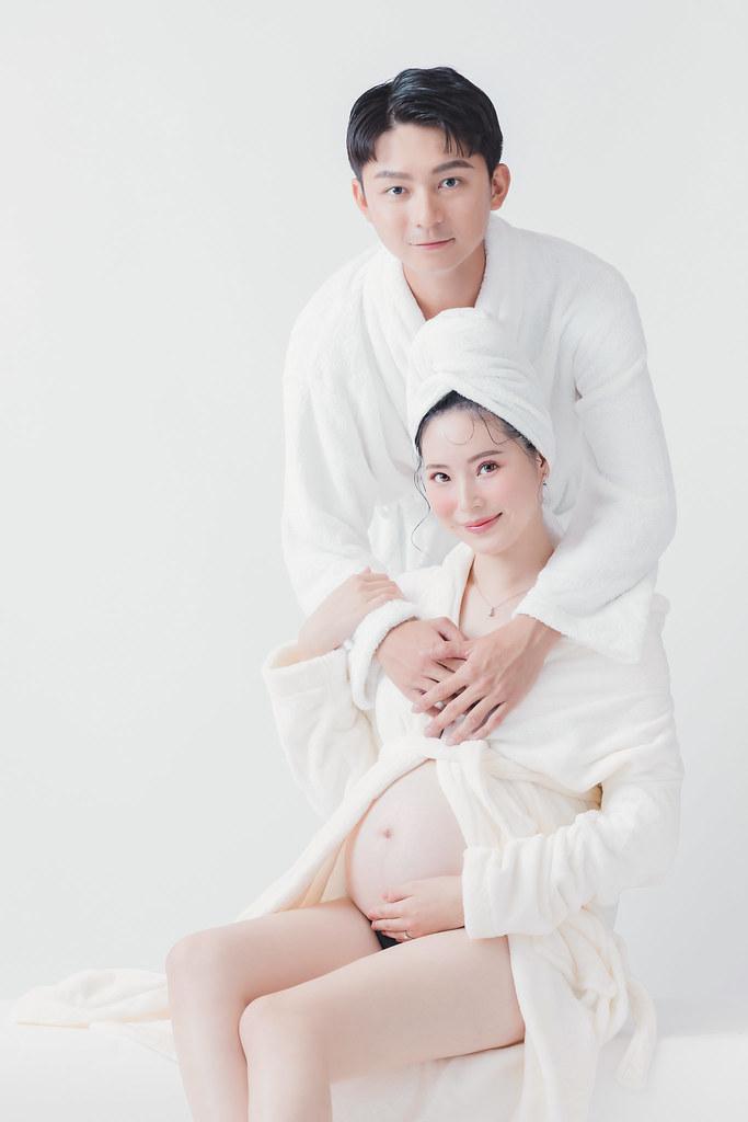 台南孕婦寫真|孕婦寫真的居家浴袍造型,直接時尚滿分|愛情街角Love Corner