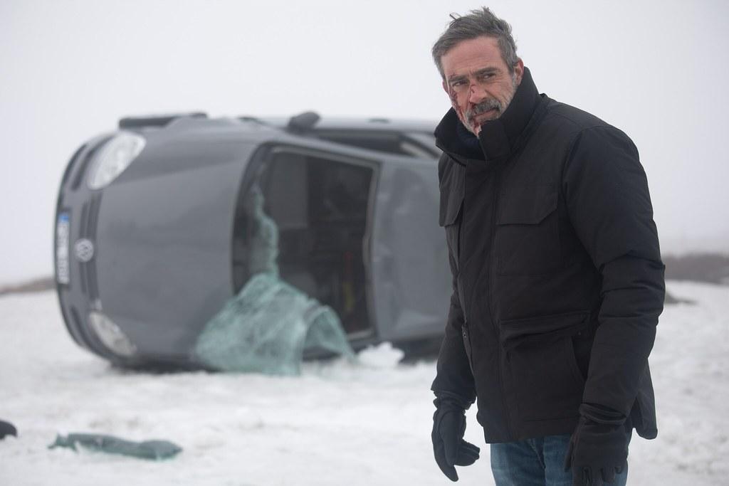 《明信片謀殺案》零下30度雪地翻車戲,傑佛瑞狄恩摩根大喊好困難