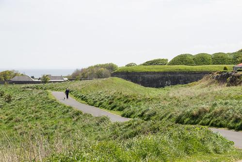 Brass Bastion, Town Walls, Berwick-upon-Tweed, England