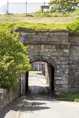 Cow Port, Town Walls, Berwick-upon-Tweed, England