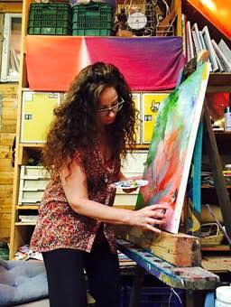 hila hilla ram tamari  ציירת  אמנית ישראלית מודרנית ישראלית פלסטית חזותית ויזואלית אמנות אומנות ציור ישראלי עכשווי מודרני israeli artist artwork artworks