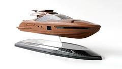 Azimut Yachts - wood model