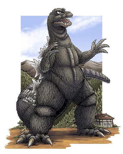 Godzilla 1964 Type B