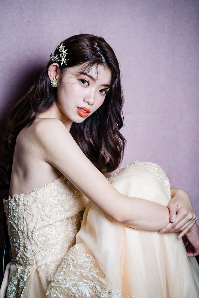 【新秘蓁妮】新娘造型創作 / 韓系唯美