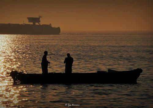 vissers bij de Ketelbrug