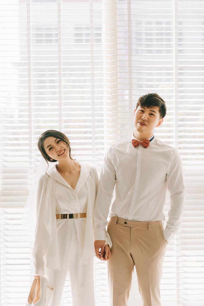 [美式婚紗]輔陞 & 斐如 / 草地.棚拍
