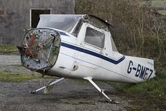 Photo of Cessna F152 G-BMFZ Bodmin 13-11-16