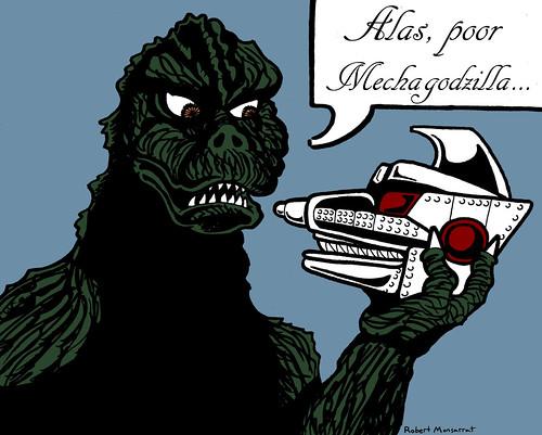 Alas, Poor Mechagodzilla!