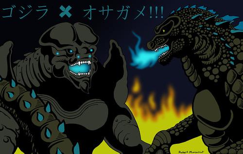 Godzilla vs Leatherback