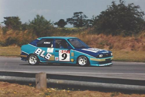 Mark Riddle 1995 at Snetterton