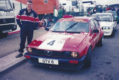 Keith Waite GTV6 at Mallory