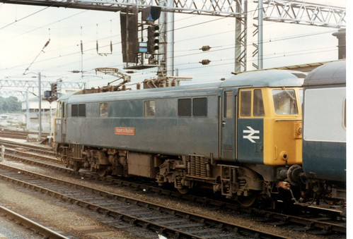 86102 Robert A Riddles Carlise 25th July 1981