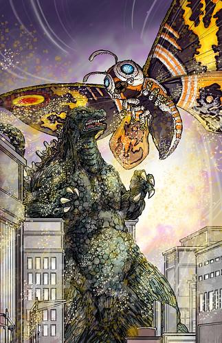 Godzilla vs Mothra Heisei
