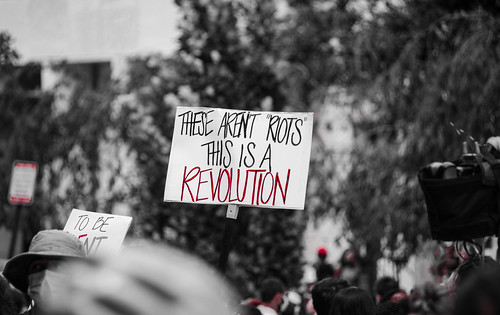 You say you want a revolution... by ArmyJacket, on Flickr
