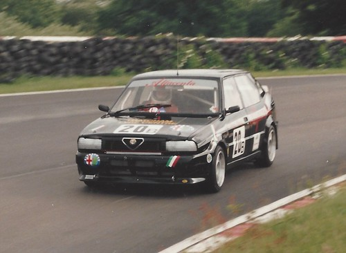 Terry Stacey at Mallory 1989