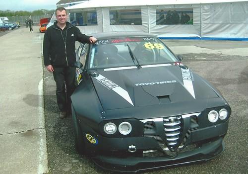 Ian Stepleton GTV6 3.8 at Silverstone