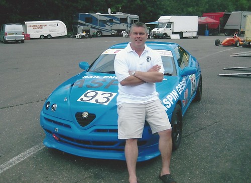 Barry McMahon with GTV at Brands