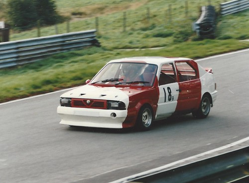 Nick Sismey at Cadwell 1991