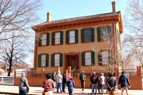 Ranger Guided Tour at President ABRAHAM LINCOLN House