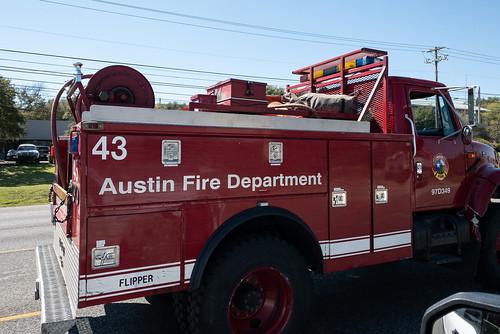 Fire Truck - Austin Fire Department