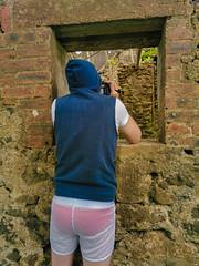 Photo of At the abandoned Muirhead Farm Ruins, Scotland.