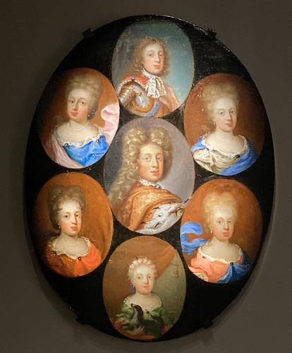 Joseph, Later Emperor Joseph I, and his Siblings (1695)