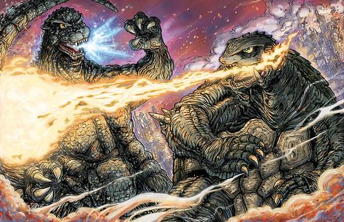Godzilla vs Gamera Heisei
