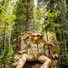 Wooden Troll Isak Heartstone In Breckenridge, Colorado