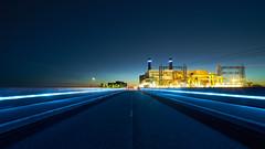 Lelystad Maxima-centrale - blue hour
