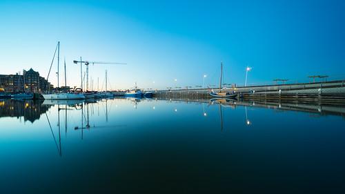 Lelystad Bataviahaven - blue hour