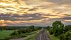 Midsummer evening freight
