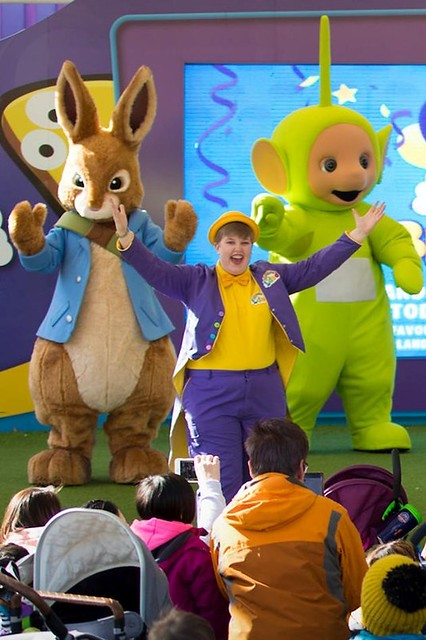 Peter Rabbit at CBeebies Land 5th Birthday in 2019