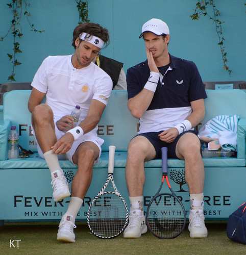 Andy Murray - Feliciano Lopez & Andy Murray