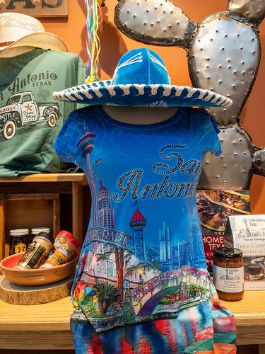 San Antonio Tourist Gift shop window