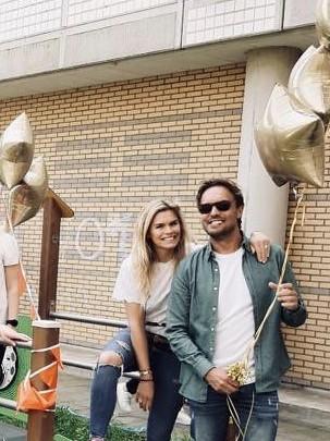 Ballonboeket Folieballonnen Ster Opening Speeltuin Sophia Kinderziekenhuis door Nicolette van Dam en Bas Smit