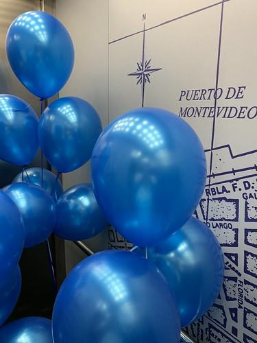 Heliumballonnen Montevideo Rotterdam
