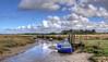 The salt marshes at Thornham, Norfolk
