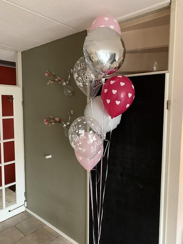 Ballonboeket Trouwen Huwelijk