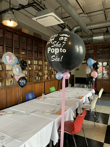 Gender Reveal Party Ballon Hotel New York Rotterdam