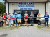 RIBBON CUTTINGWeiss Lake Tackle
