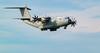 ZM404 RAF UK Airbus A400M Atlas low pass training Aberdeen ABZ 18:35hrs 22/06/2020