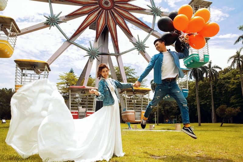 兒童樂園 婚紗照