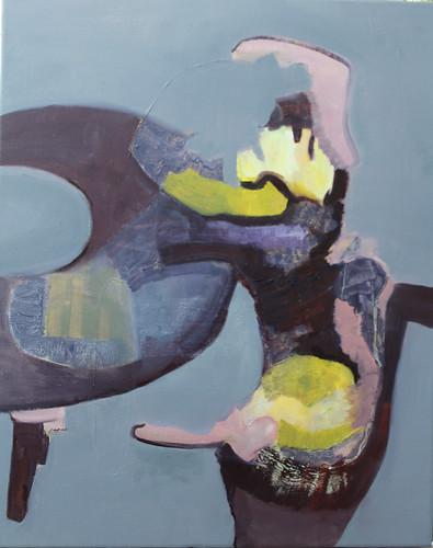 JUDYDEELEY20-Plantationocene #2_Oil on canvas_50 x 40 cm_2019
