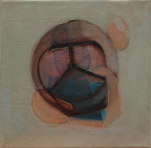 JUDYDEELEY-Plantationocene #7 Oil on canvas_32 x 32 cm framed_2019