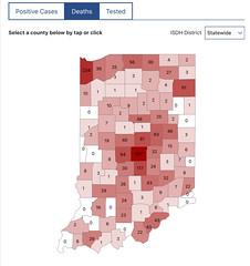 2020 - Marshall county COVID-19 stats