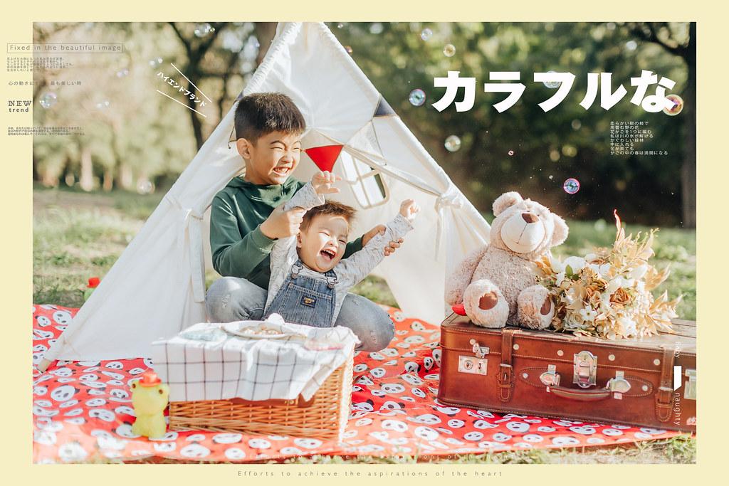 台南兒童寫真|親子公園的小清新兒童寫真|愛情街角-Love Corner