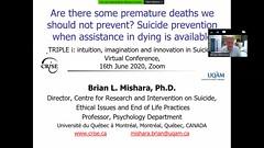 "Prof. Brian Mishara - Preprečevanje prezgodnjih smrti • <a style=""font-size:0.8em;"" href=""http://www.flickr.com/photos/102235479@N03/50039671463/"" target=""_blank"">View on Flickr</a>"