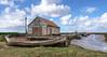 Salt marshes at Thornham, North Norfolk