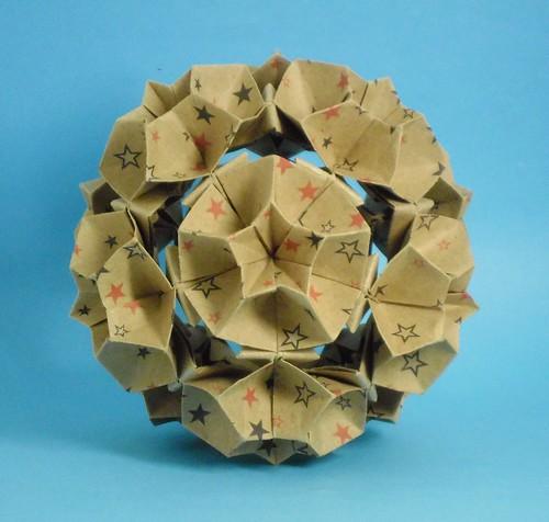 Dreams and Paper: Tutorial Poliedros de Origami - Tetraedro ... | 476x500