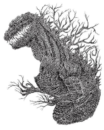 Shin Godzilla Tree